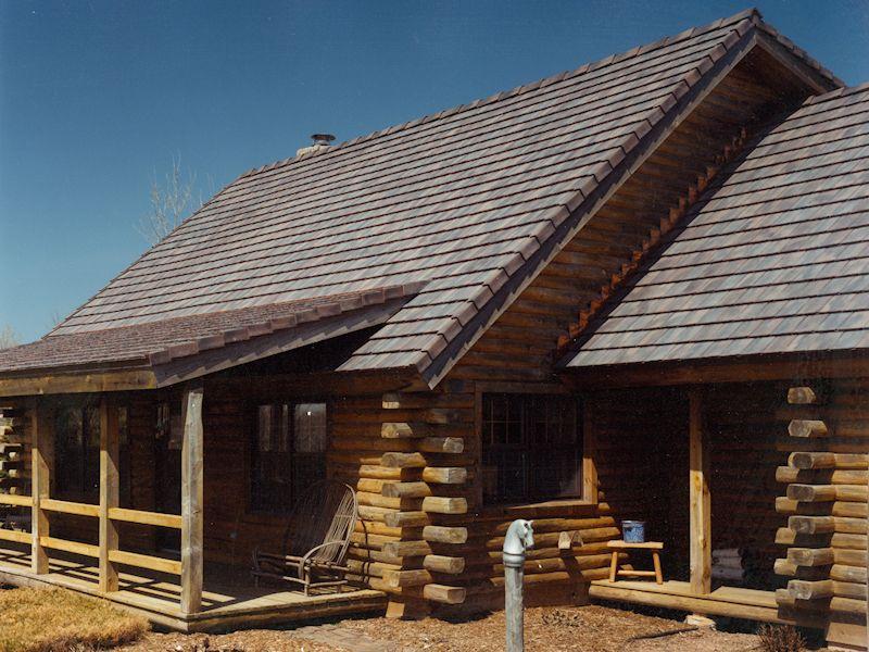 Custom Brushed Roof Tile Handmade Roof Tiles