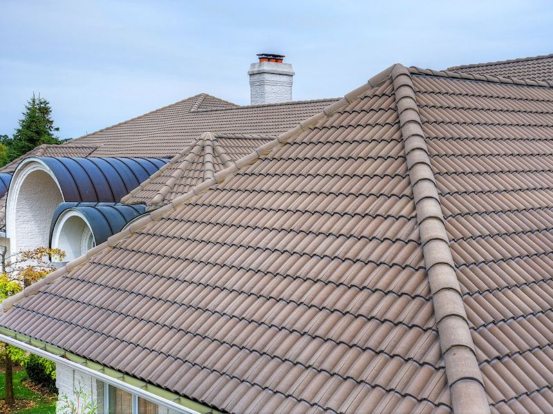 Riviera roof tile mediterranean roof tile spanish roof for Spanish tile roofs